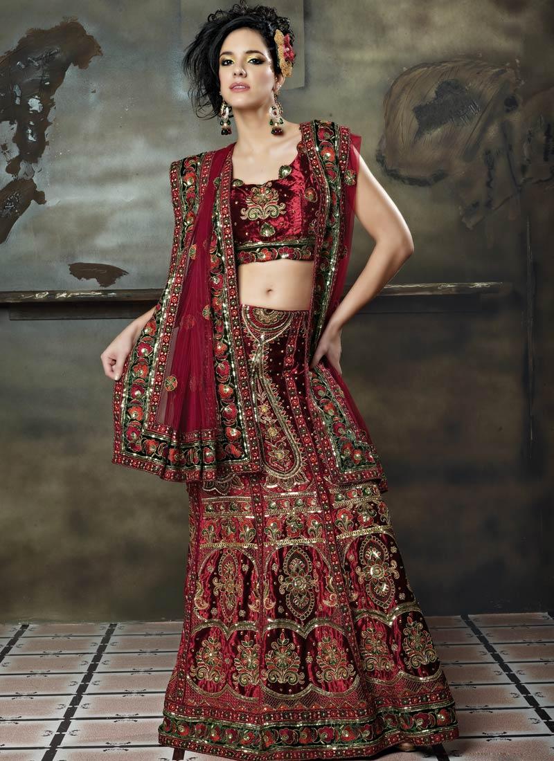 Bridal Lehenga Choli Designs