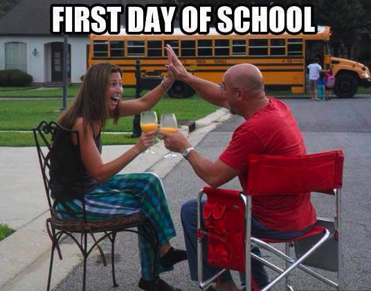 First Day of School Funny