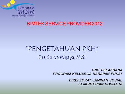 Materi-Pengetahuan Tentang Program PKH