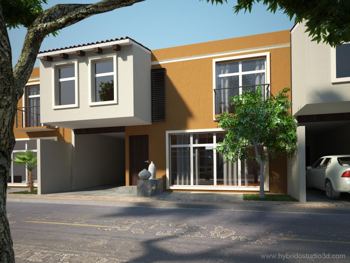 Casas en guanajuato m xico hybrido studio 3d for Casas en leon gto