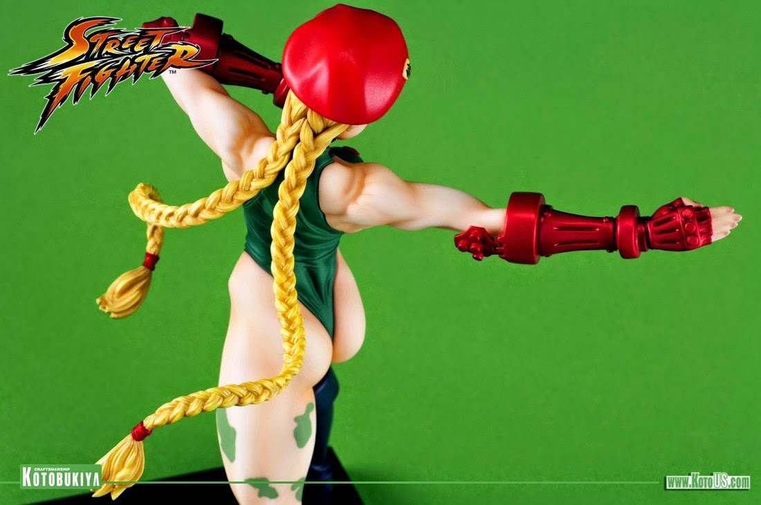 Estátua Cammy Street Fighter Bishoujo