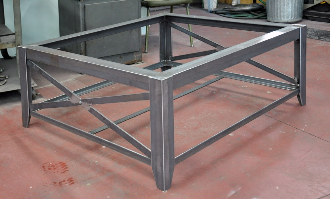 Custom Metal Coffee Tables Devos Custom Woodworking Custom Wood Tables With Metal Bases Lucca