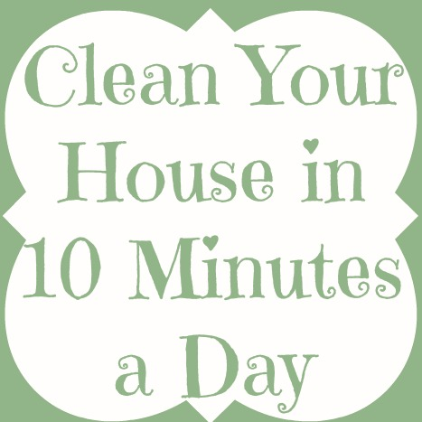 How To Clean Your House clean your house in 10 minutes a day - bathroom - adventures of a