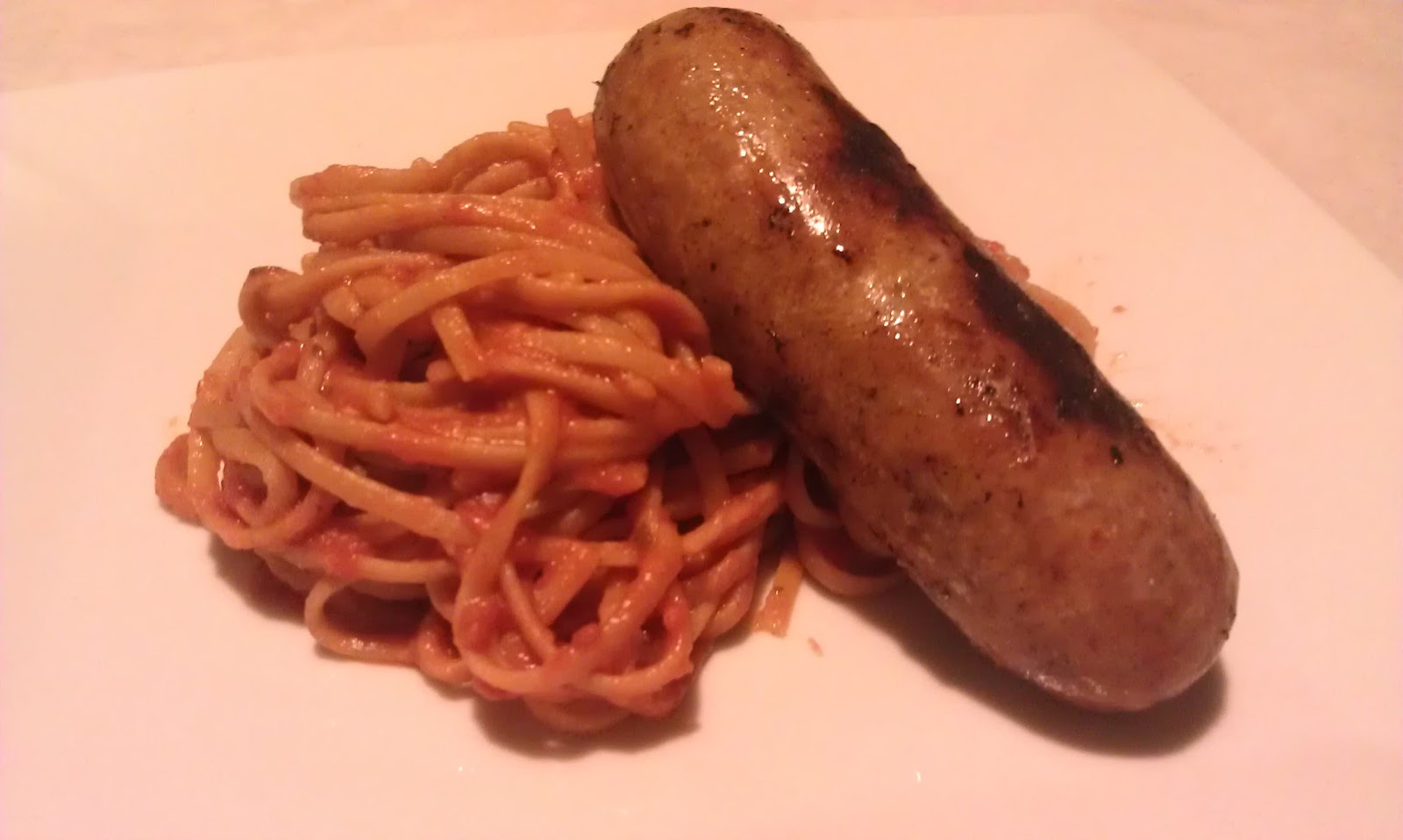 how to cook italian sausage for spaghetti