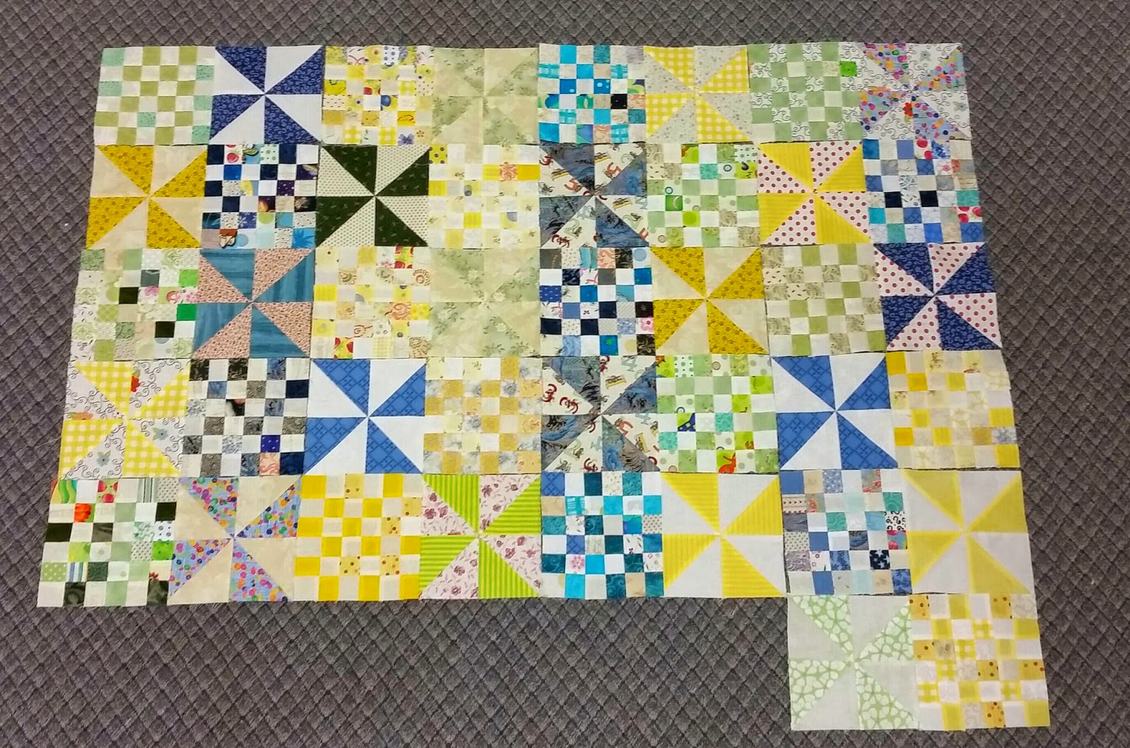Patches and Pinwheels February 2015