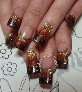 fall fade nails