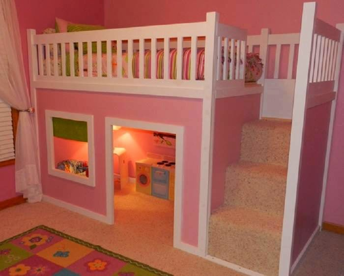 En images  belles chambres d'enfants très originales