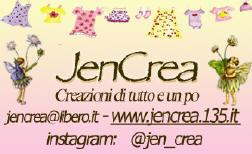 Jencrea il mio sito web