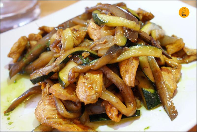 Pollo con verduras Trattoria Pizzeria Passaparola Móstoles