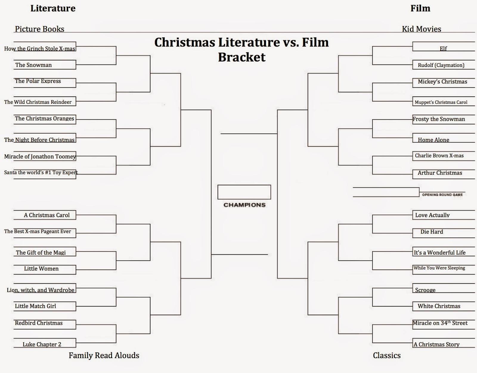 Heather Dent\'s Studio: Christmas Literature vs. Film