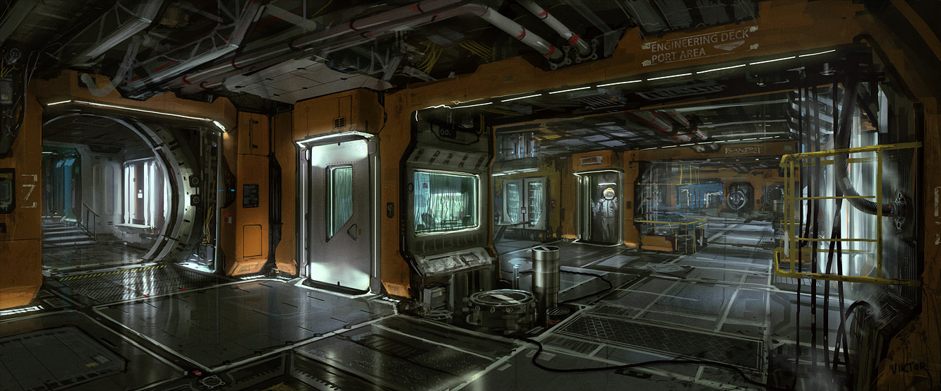 1000 images about sci fi wall panels on pinterest sci fi space station and concept art. Black Bedroom Furniture Sets. Home Design Ideas