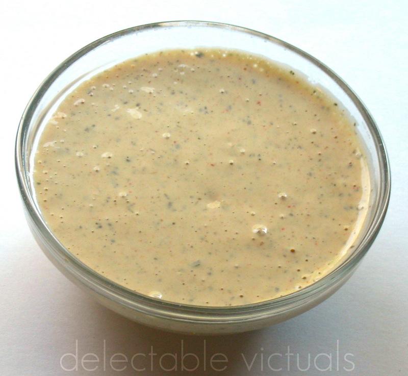tahini sumac yogurt dressing