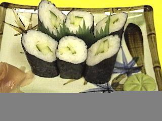 Kappamaki - Cucumber Rolls Recipe