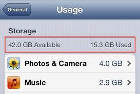 [iOS tips] - Tăng dung lượng bộ nhớ trống cho iPhone, iPad 1