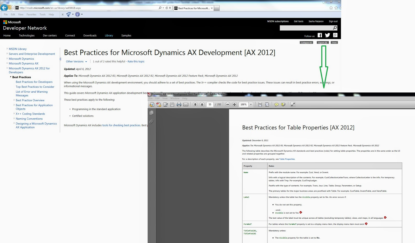 Dynamics ax notes on the cuffs 2014 p s the first thing i have done after reading the article by ax support was export best practices for microsoft dynamics ax development ax 2012 and 1betcityfo Gallery
