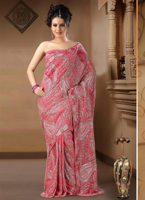 Bridal Wedding Saree Trend