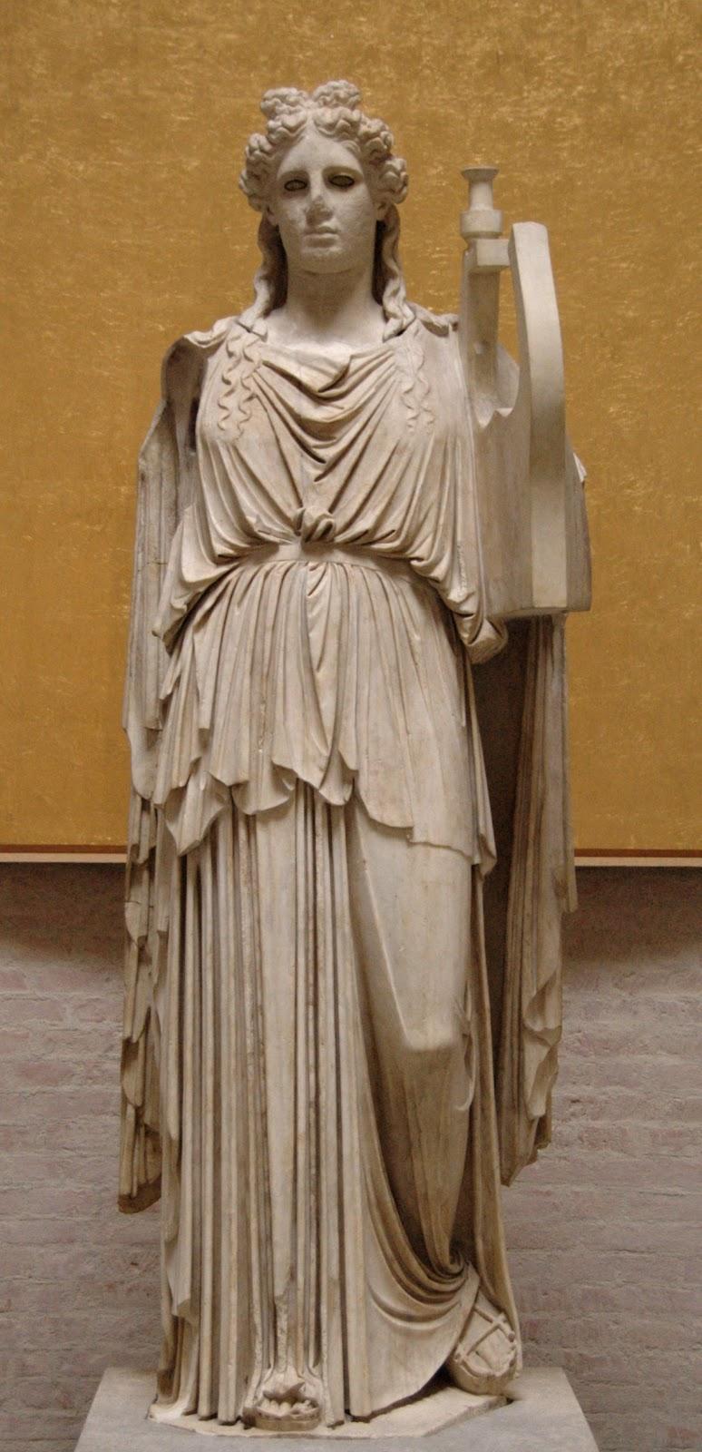 Digital Mixed Media: Apollo- Greek God