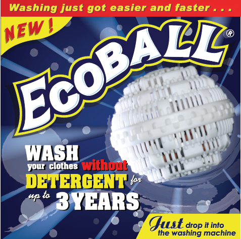 "Pencuci Ajaib ""bola Pencuci Ajaib"" Ecoball"