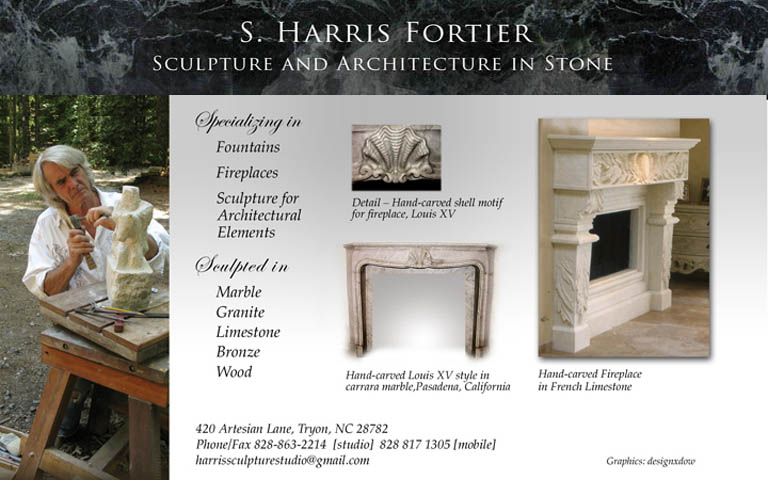 S. Harris Fortier, Master Stone Carver