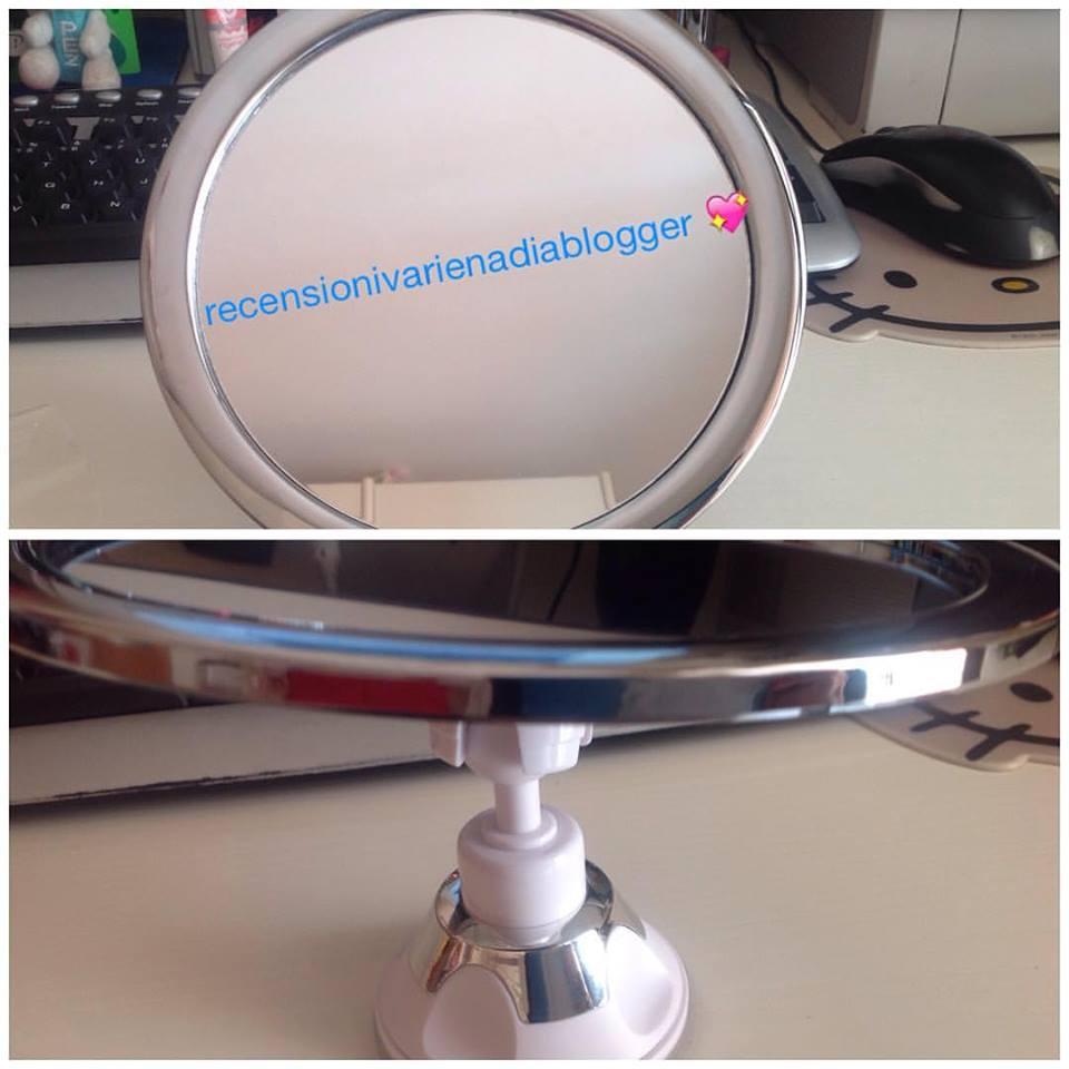 Jerrybox Specchio Antiappannamento