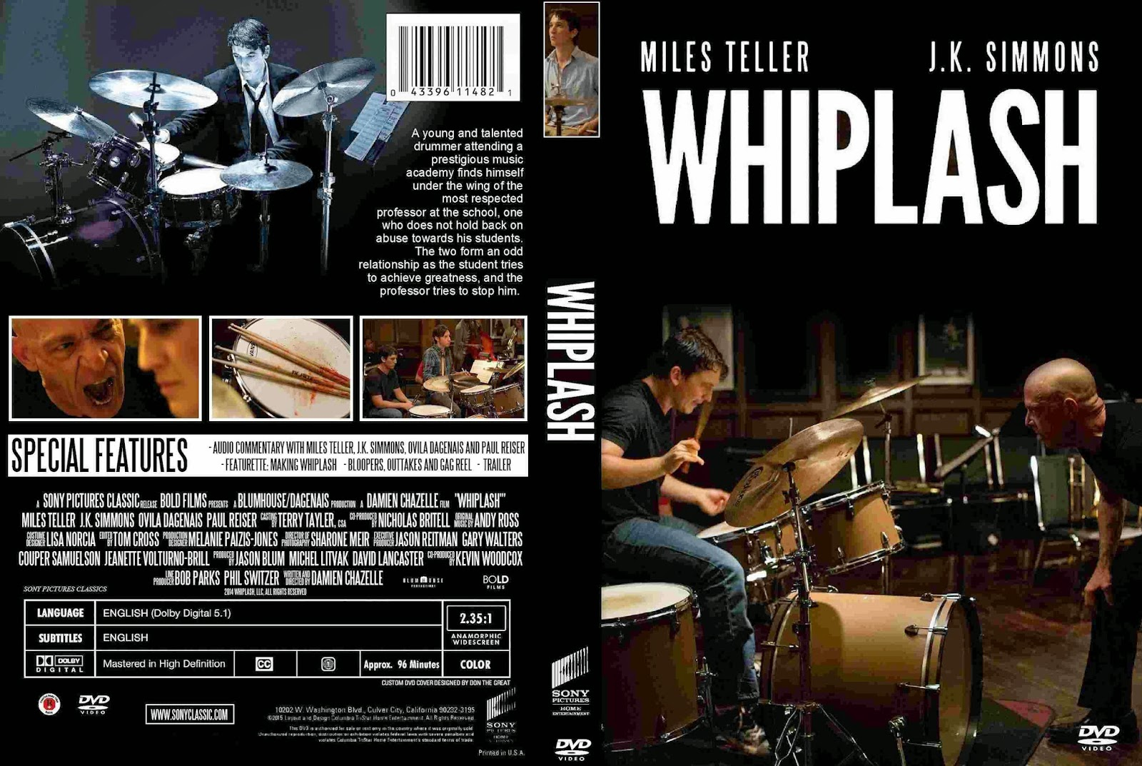 Whiplash 2014 movie