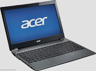 Acer C7 Chromebook quick start guide