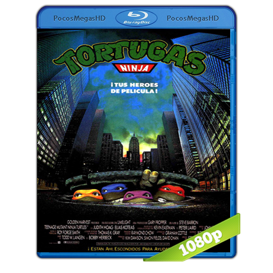 Tortugas Ninja | 1990 | BrRip 1080p | Audio Dual | Latino/Ingles 5.1