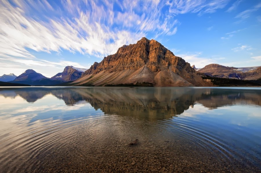 The 15 astonishing views of bow lake alberta best for Canape lake park
