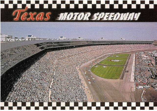 My Stadium Postcards Usa Texas Motor Speedway