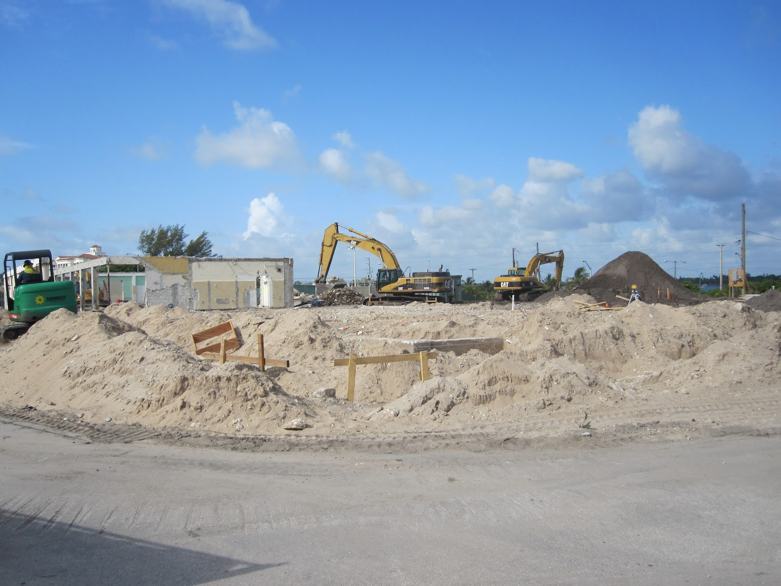 "The City's Casino was ""Greenwashed"". Click sand pile to learn more:"