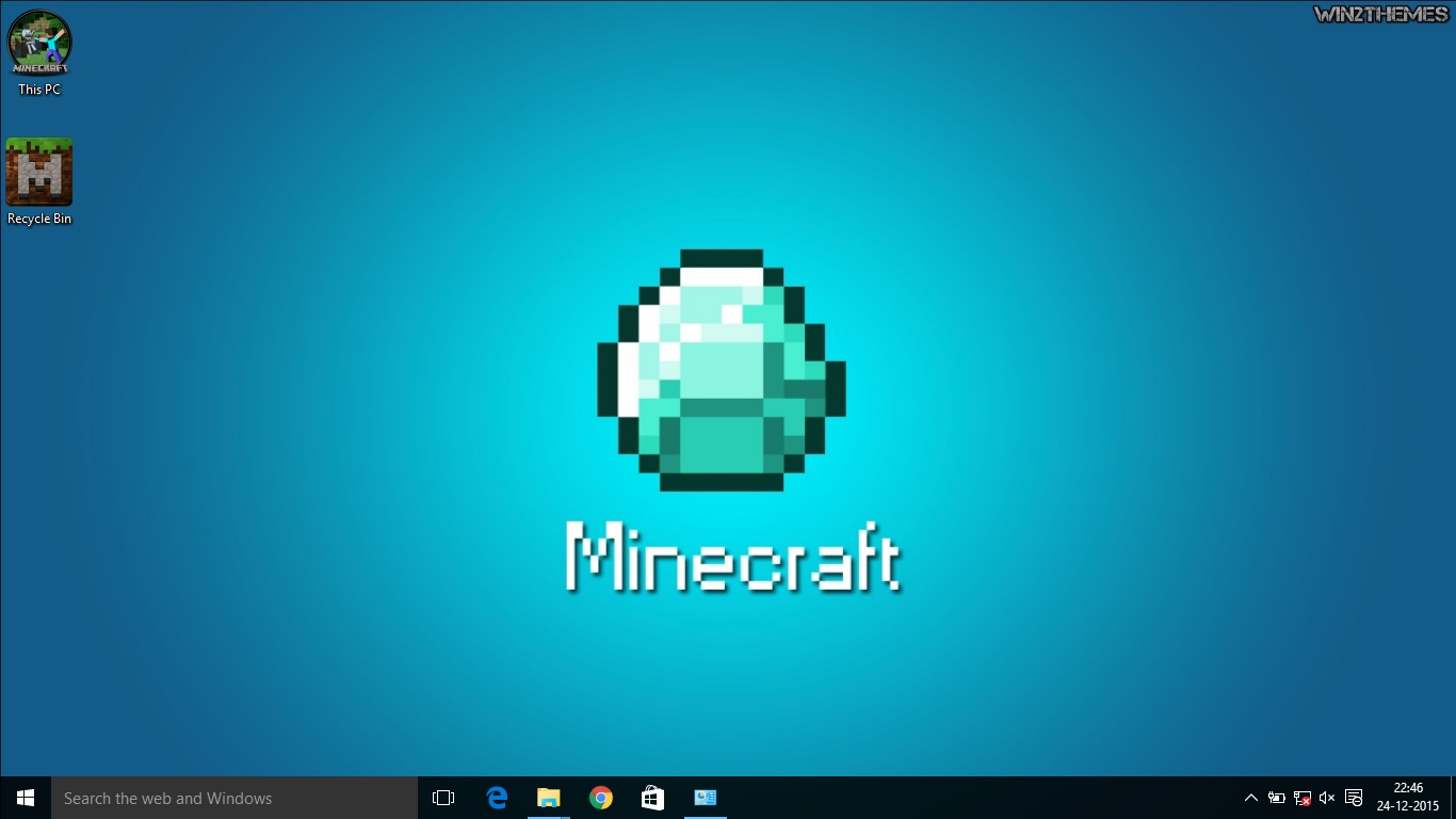 Beautiful Wallpaper Minecraft Windows 7 - Minecraft%2B%255BWin2Themes%255D%2B%25282%2529  Snapshot_47613.jpg