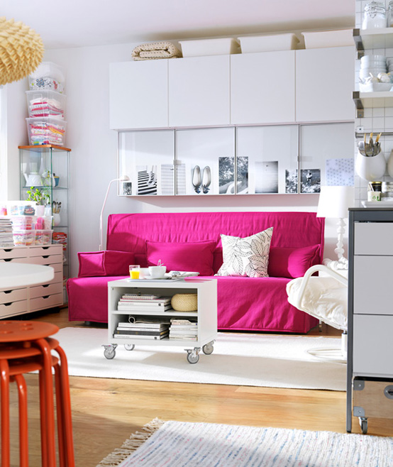Pamba Boma: Arranging Furniture in a Small Living Room