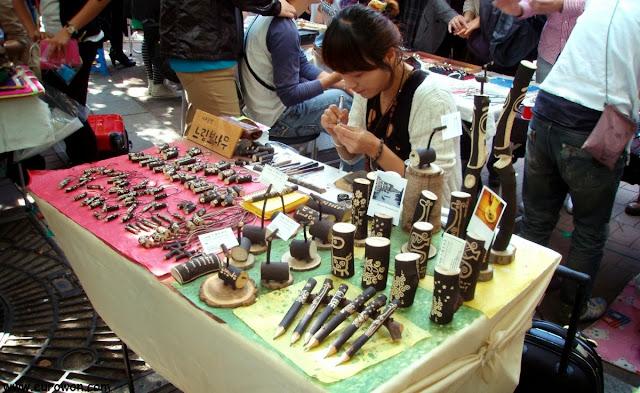 Free Market de Hongdae en Seúl
