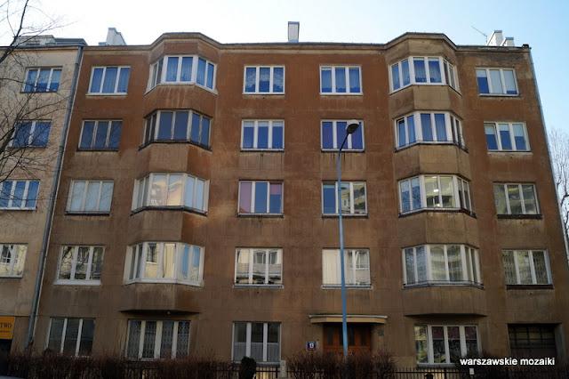 Warsaw Warszawa Stara Ochota kamienice modernizm Puławski Zygmunt
