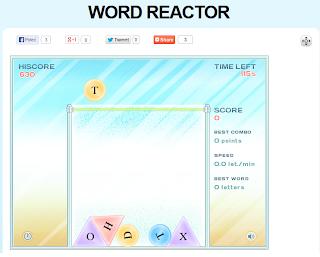 http://www.mindgames.com/mindgame.php?mind=Word+Reactor&game=143
