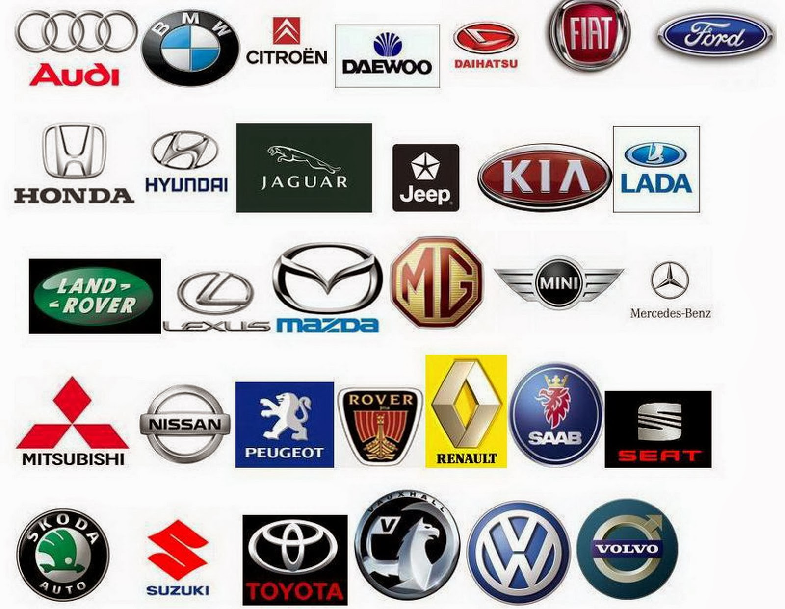 Car Brands Logos And Names >> Car Logos And Brands | Cars Show Logos