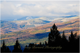 Purcell Mountains in the West Kootenai Montana in the fall, photo by Kinsey Barnard