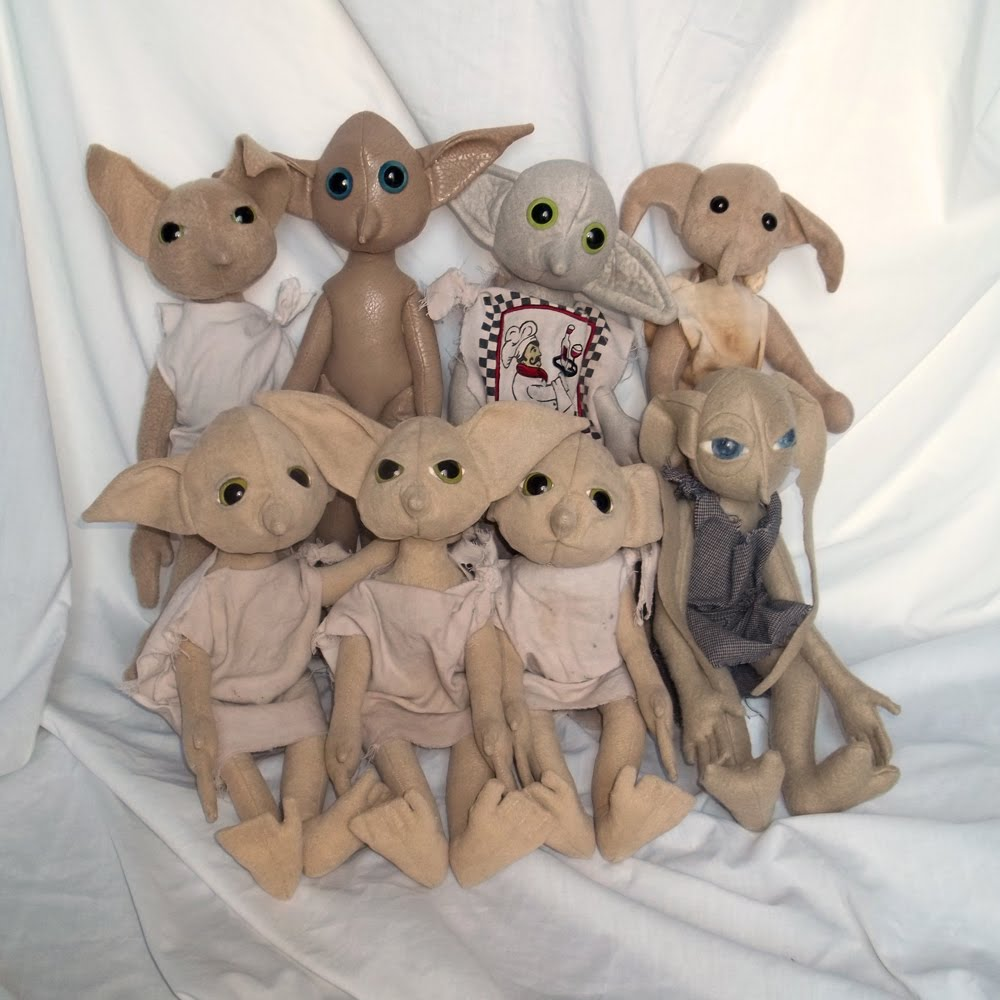 All Things Crafty: House Elf Triplets and More !!