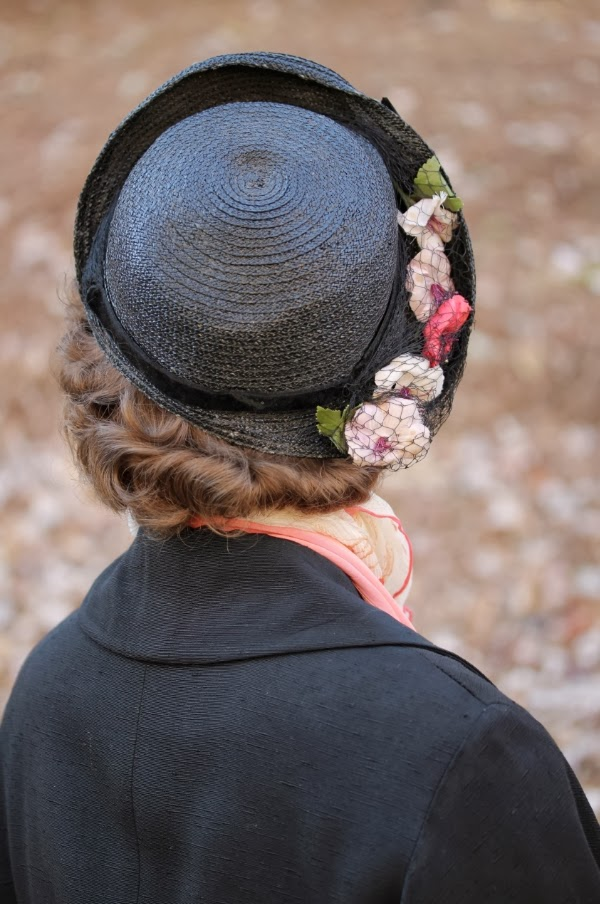 1940s Hat Detail #40s #hat #1940s #fashion #vintage #winter