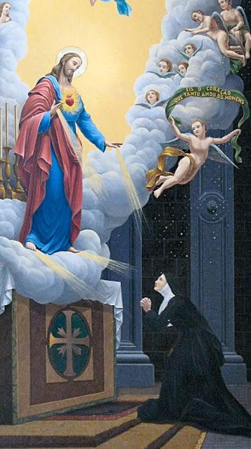 O Sagrado Coração de Jesus poderia fazer  os milagres de Lourdes no Santuário de Paray-le-Monial,  mas escolheu a Gruta de Nossa Senhora.  Veja por que.