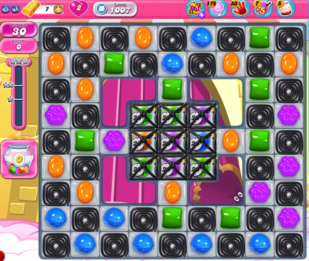 Candy Crush Saga 1007