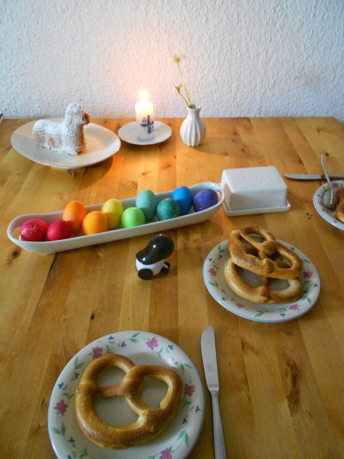 Foto der Woche: gemütliches Osterfrühstück