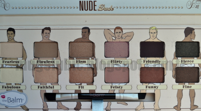 The Balm Nude Dude Review Nude Tude İnceleme Swatch