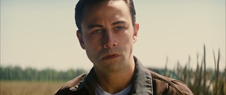 Screen Shot Of Looper (2012) Dual Audio Movie 300MB small Size PC Movie