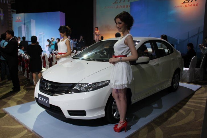 New honda city 2012 minor chang