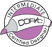 Copic Certified Intermediate Designer