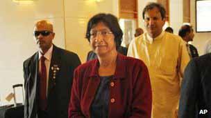 Navaneethan Pillay meets Chief Justice