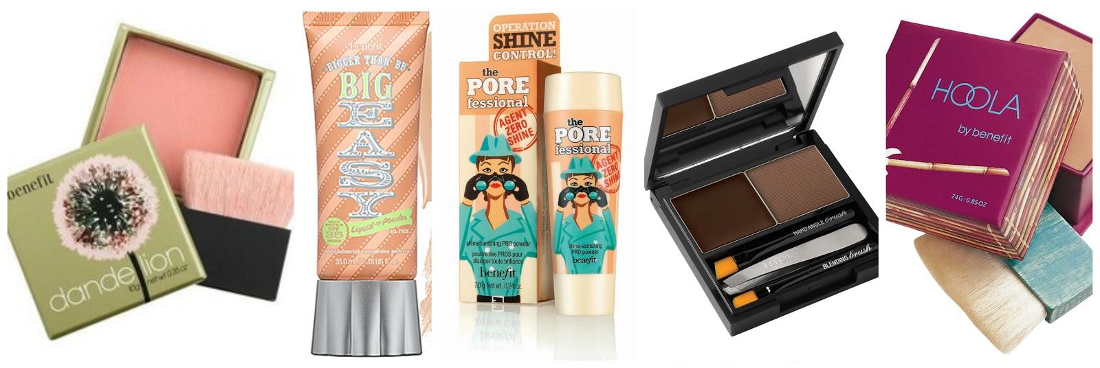 Benefit Cosmetics best sellers