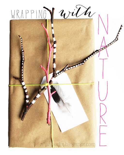 nature+copy - Wrapping Gifts with Nature
