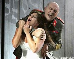 Montemezzi's L'amore dei tre at Opera Holland Park in 2007 - photo Alastair Muir